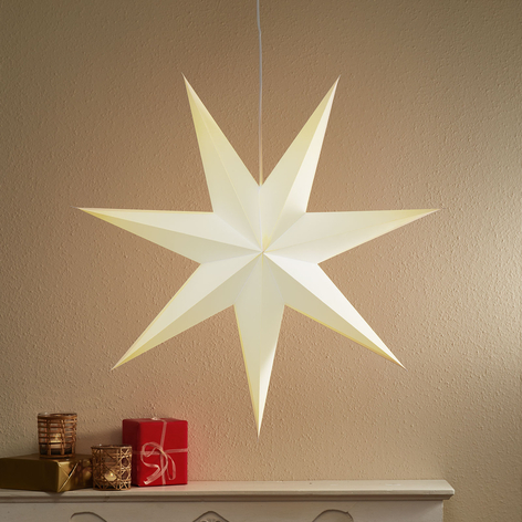 Piękna papierowa gwiazda DUVA 75 cm