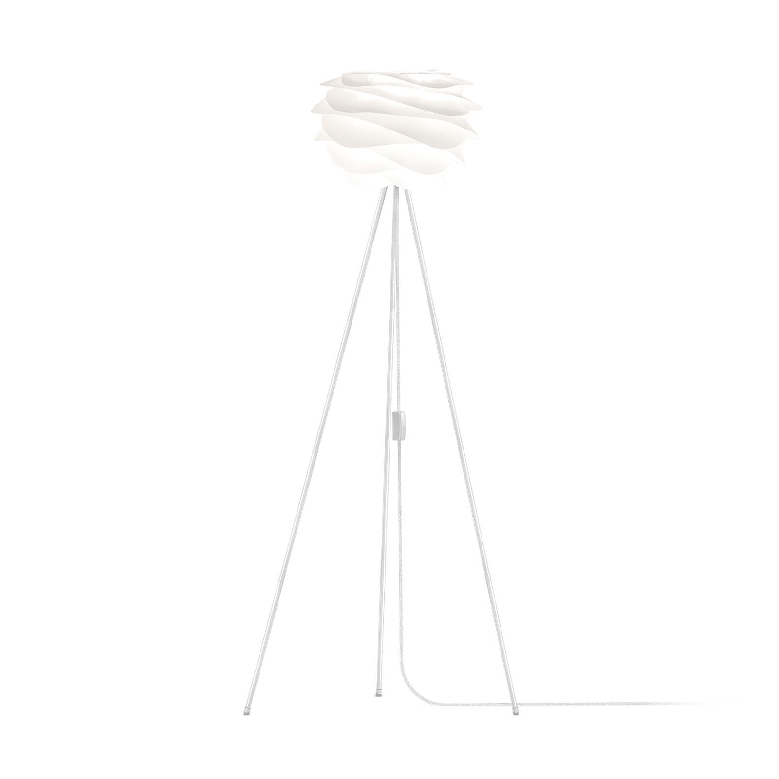 UMAGE Carmina Mini vloerlamp wit/tripod wit