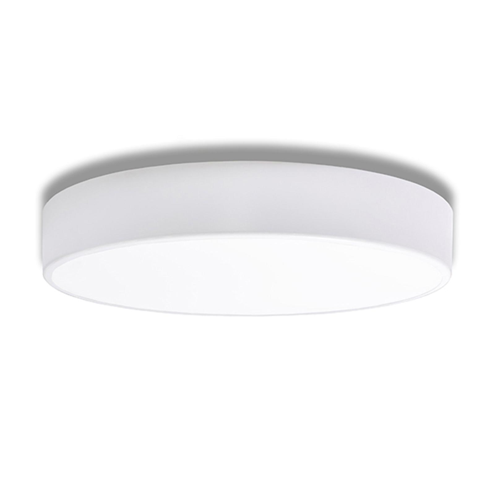 Taklampe Cleo, Ø 50 cm, hvit