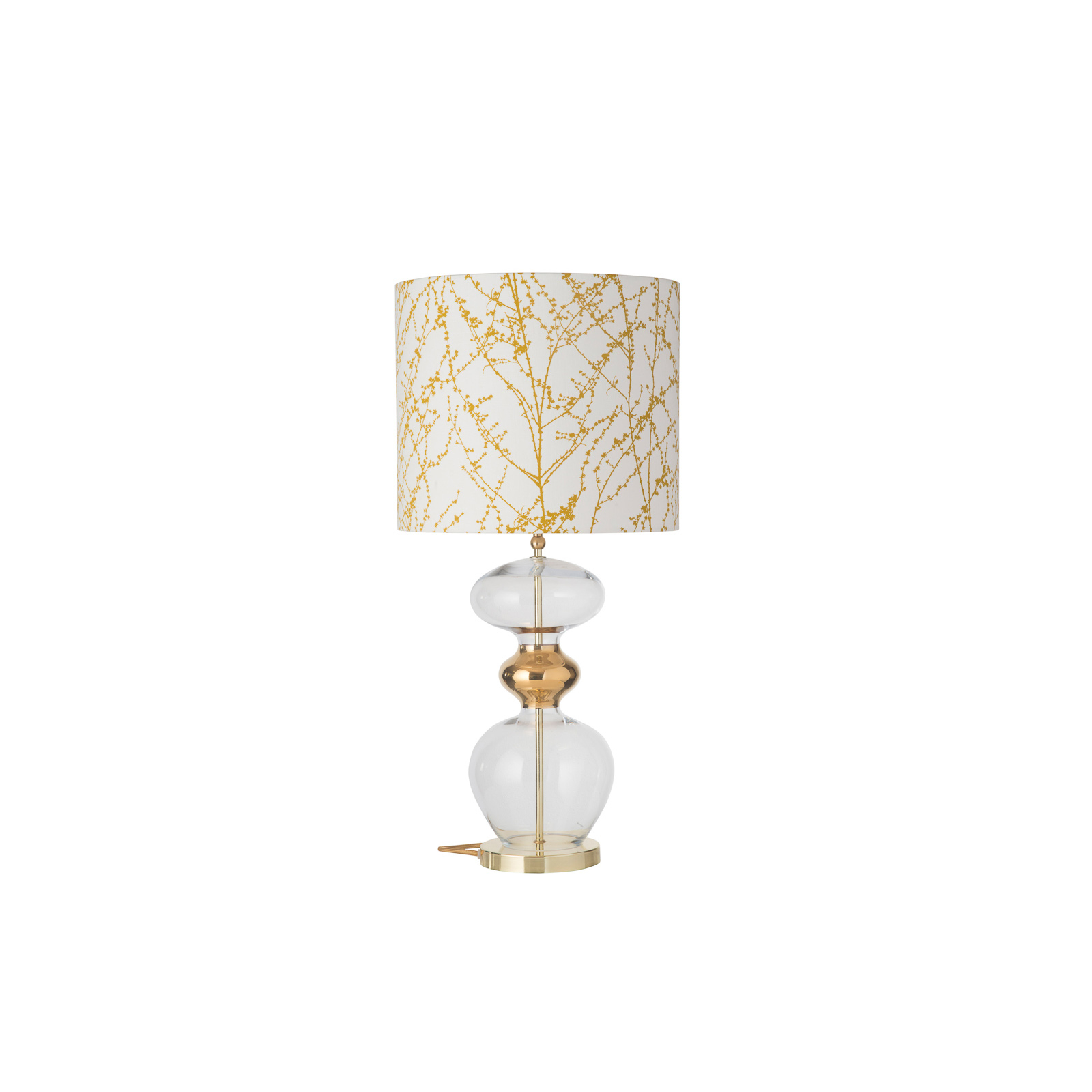 EBB & FLOW Futura lampa stołowa, Branches ochre