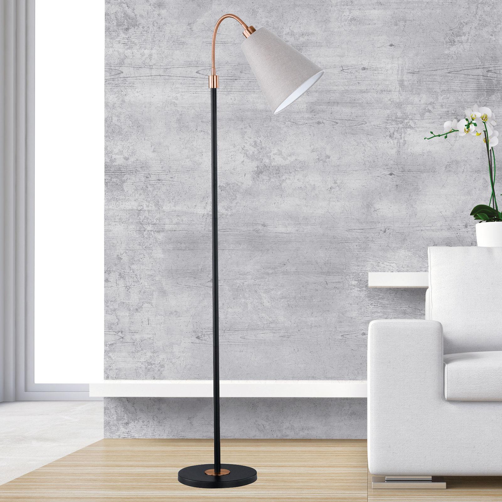 1-pkt. lampa stojąca Hopper z regulacją wysokości