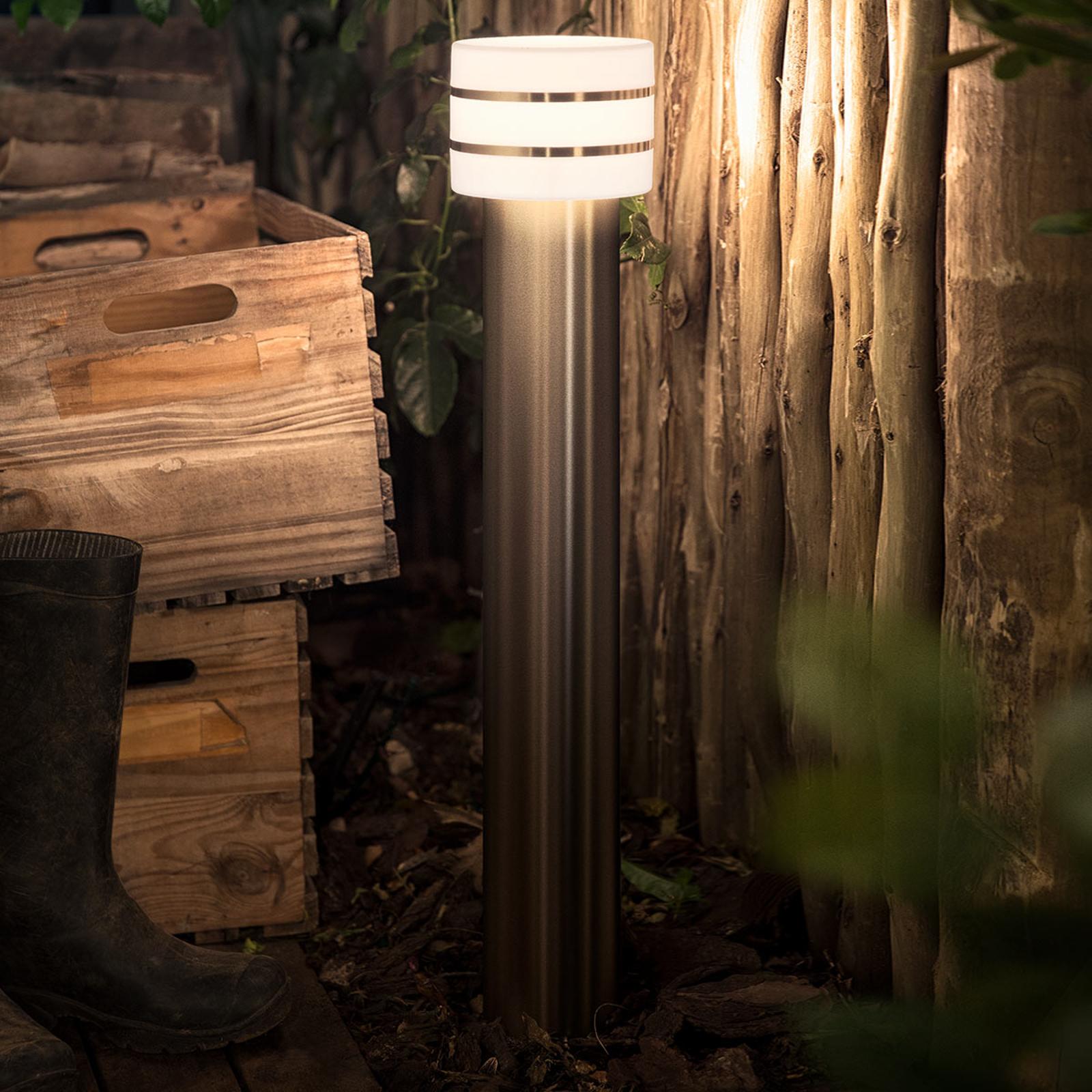 Philips Hue LED-väglampa Tuar i rostfritt stål