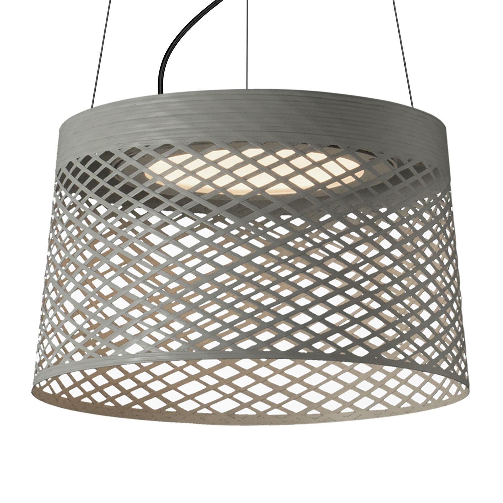 Foscarini Twiggy Grid LED-hänglampa, greige