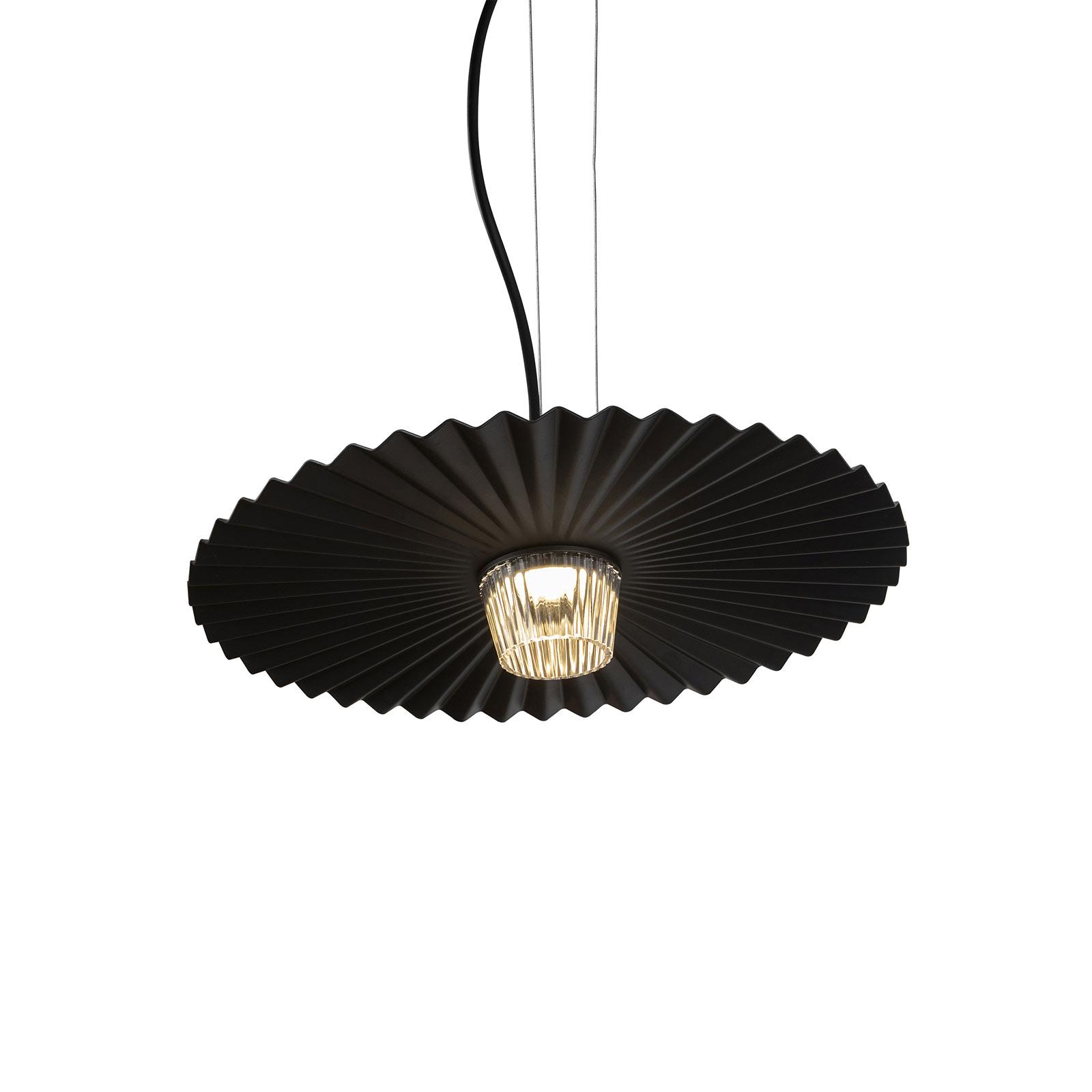 Karman Gonzaga LED hanglamp, Ø 42 cm, zwart