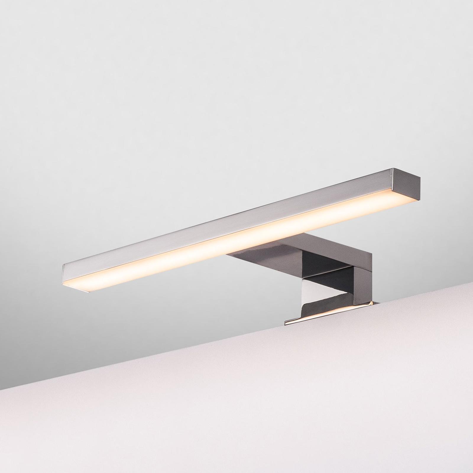 SLV Dorisa LED-Klemm-Wandleuchte Breite 30cm chrom