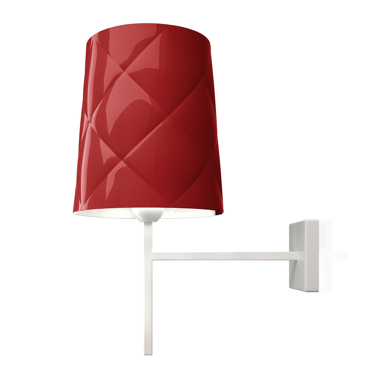 Kundalini New York wandlamp, rood