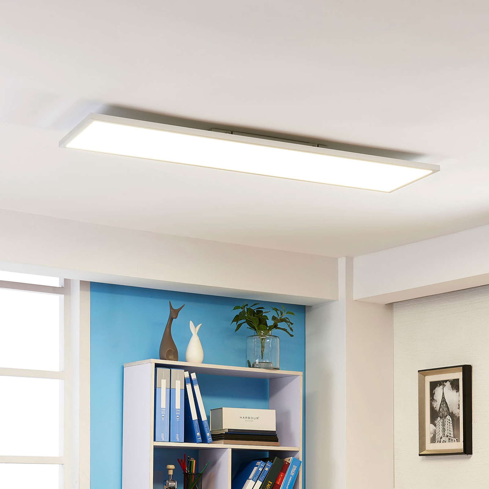 Plafonnier LED lumineux Arthur, blanc neutre 50 W