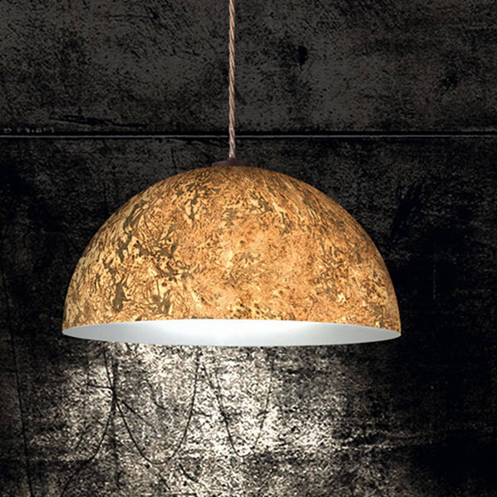 Hanglamp Cult Vintage, goud, Ø 40 cm
