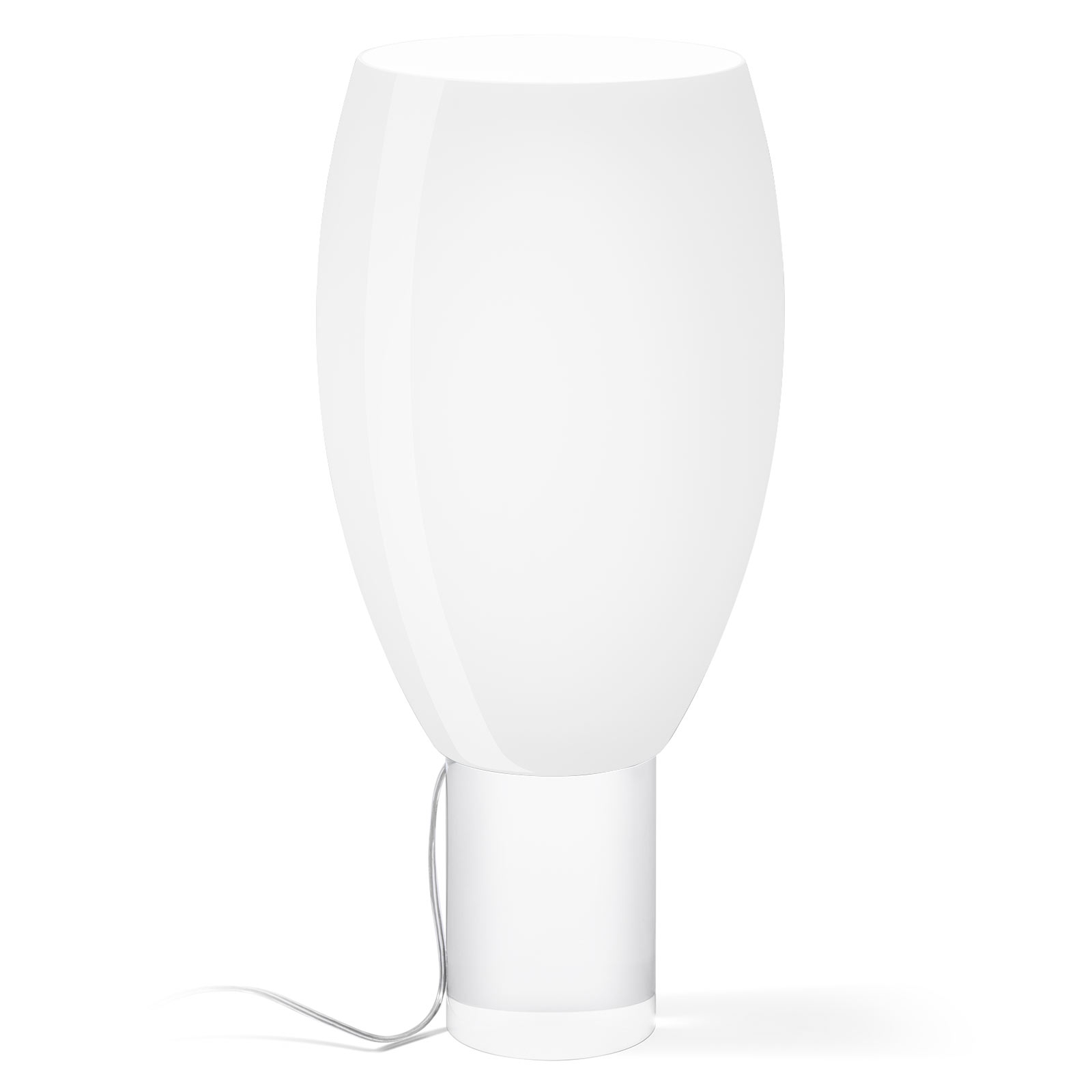 Foscarini Buds 1 lampe à poser, blanche bourgeon