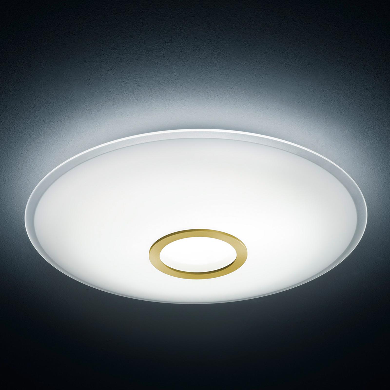 Lampa sufitowa LED NUNO, mosiężna matowa