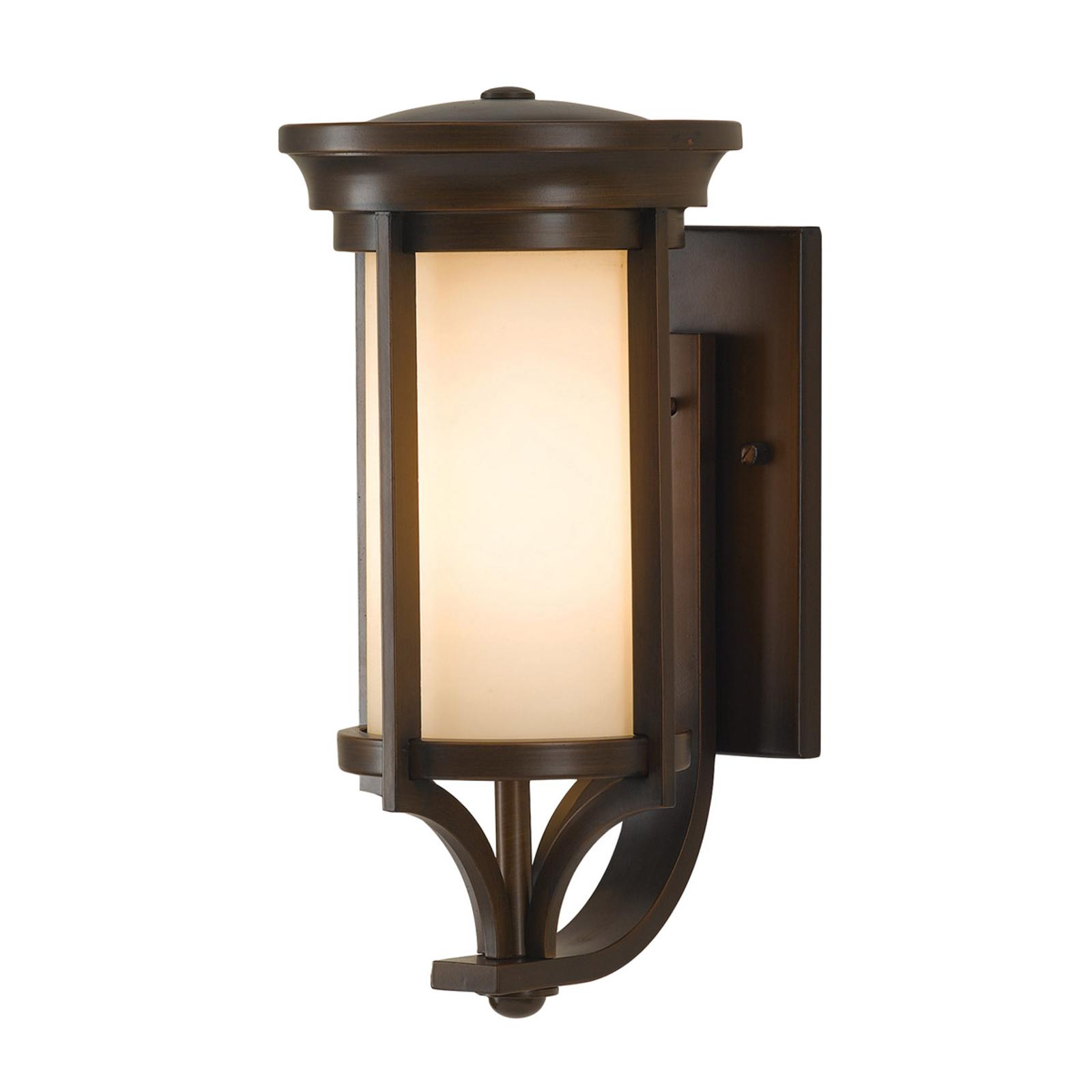 Venkovní nástěnné světlo Merrill v bronzové barvě