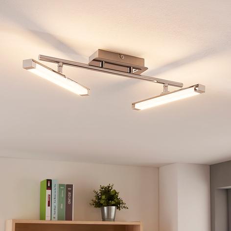 Moderní LED stropní lampa Pilou, 3úrovňová