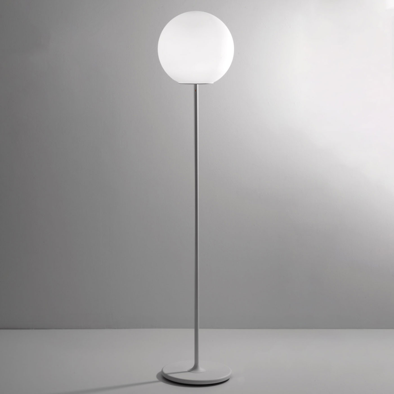 Fabbian Lumi Sfera Glas-Stehleuchte, Ø 40 cm