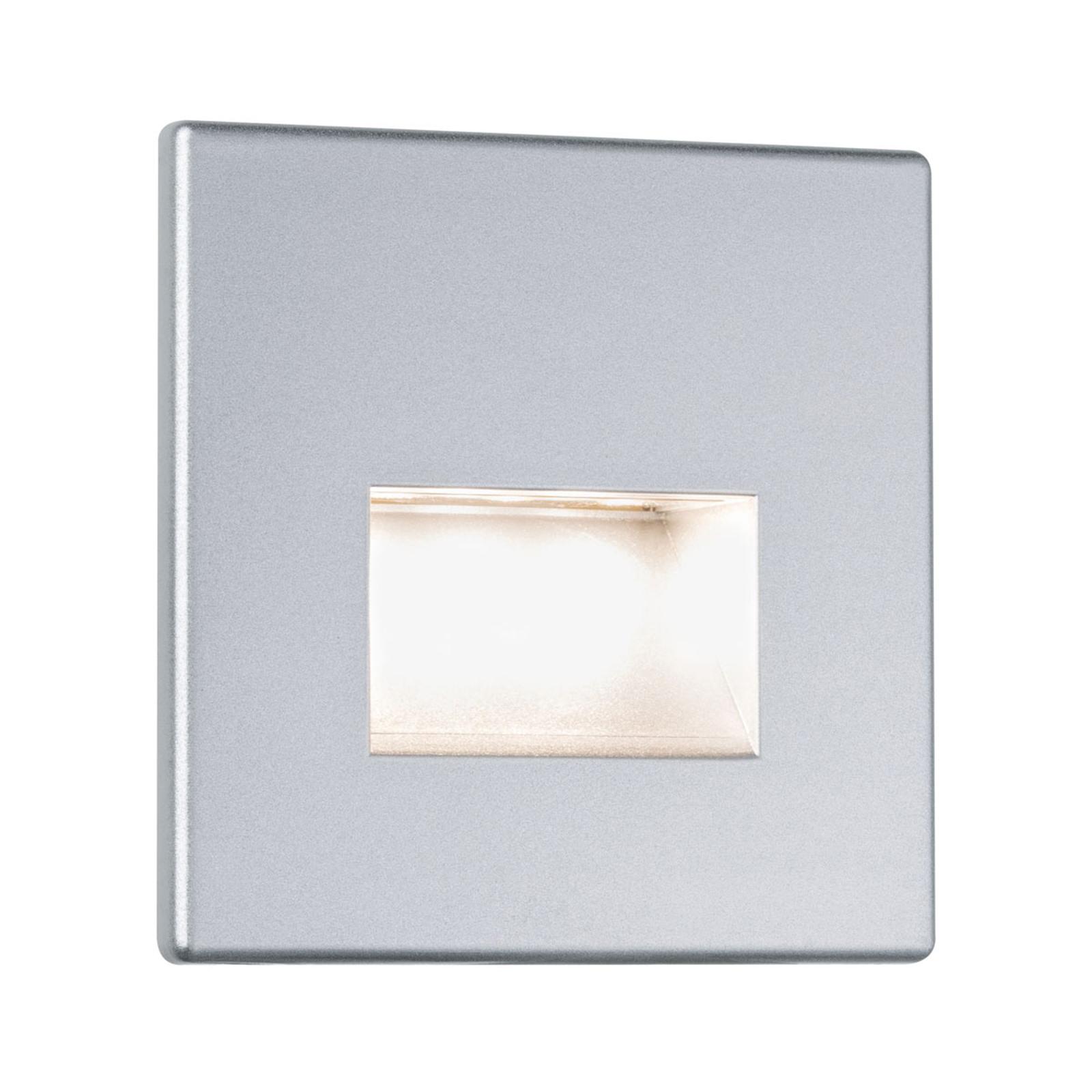 Paulmann LED-Wandeinbauleuchte Edge, chrom matt