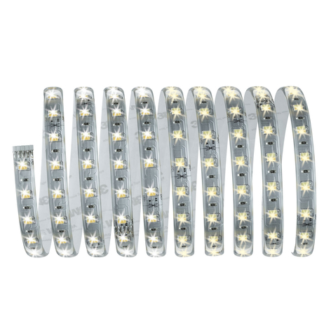 MaxLED LED-strip grunnpakke 300 cm hvit justerbar
