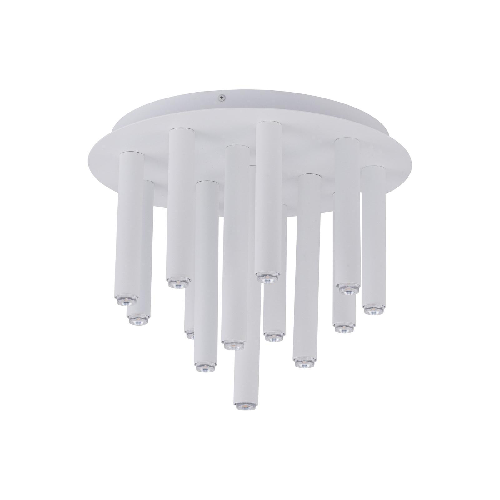 Taklampe Stalactite 13 lyskilder, hvit