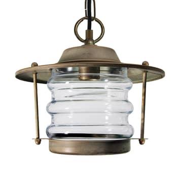 Hængelampe Adessora udendørs saltvandsresistent