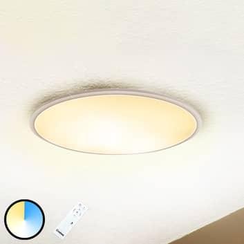 Lampa sufitowa LED z pilotem, ściemniana