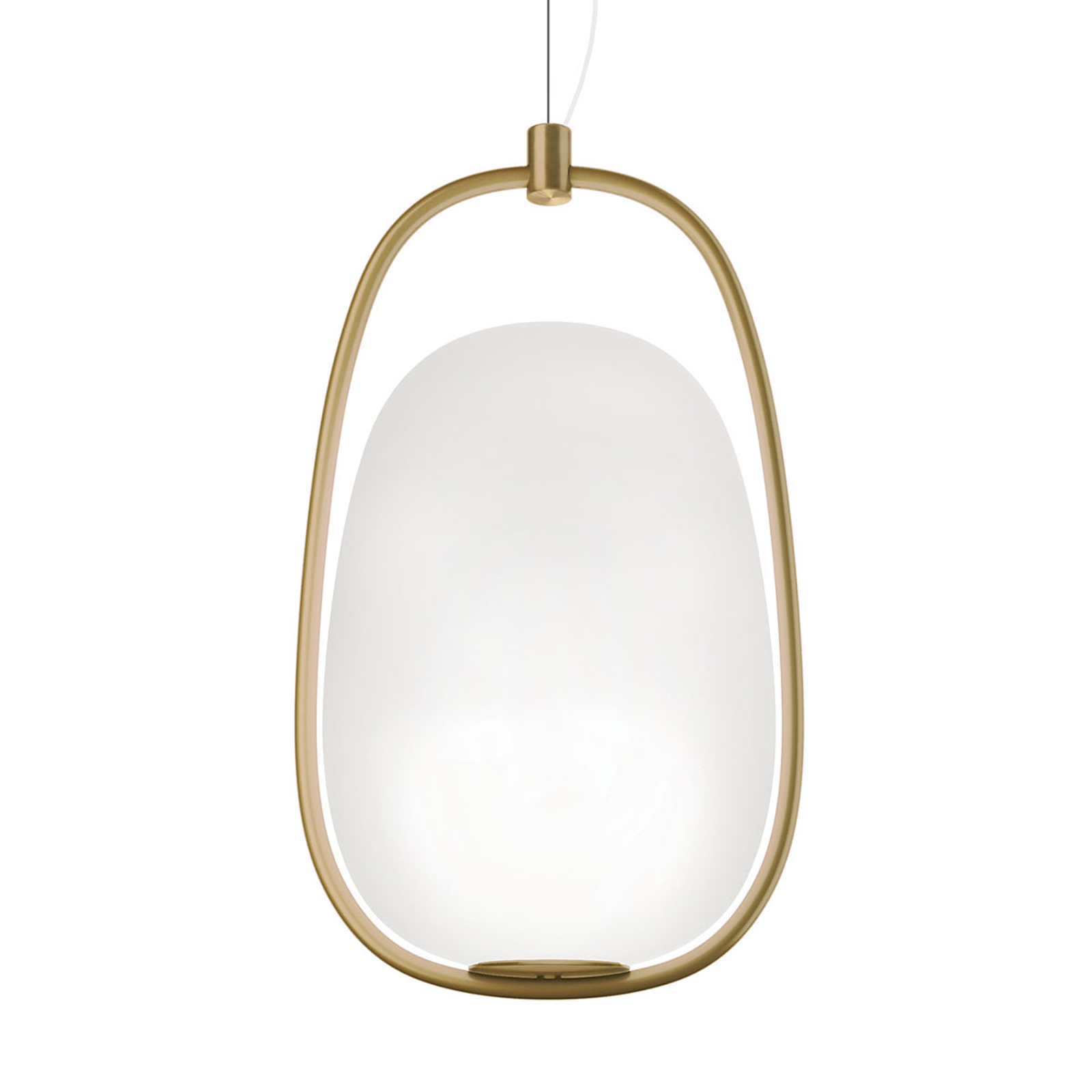 Kundalini Lannà - hanglamp met messing frame
