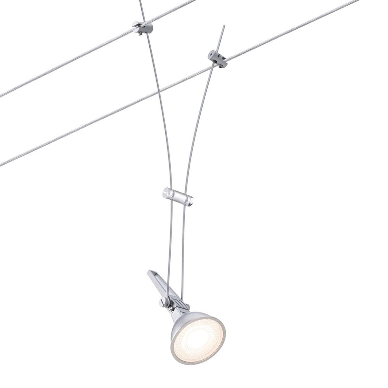 Paulmann Comet enkelspot for vaiersystem, krom