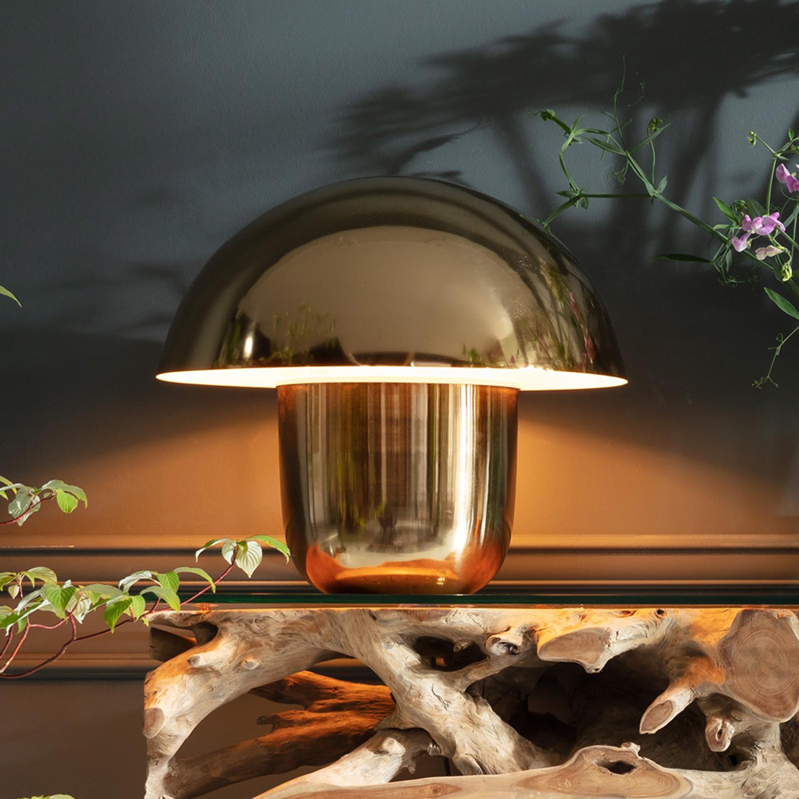 KARE Mushroom - lampe à poser originale, dorée