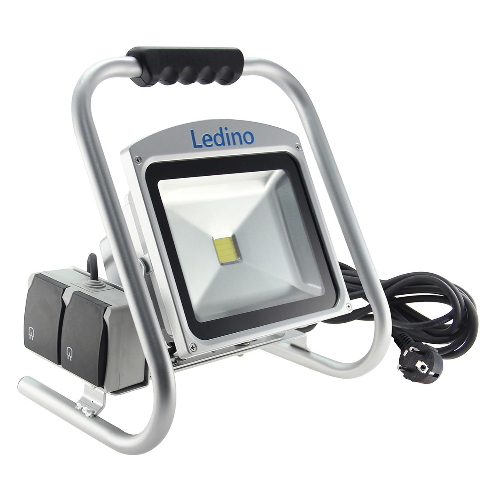 LED-Baustrahler Eros, 50 W, strahlwassergeschützt