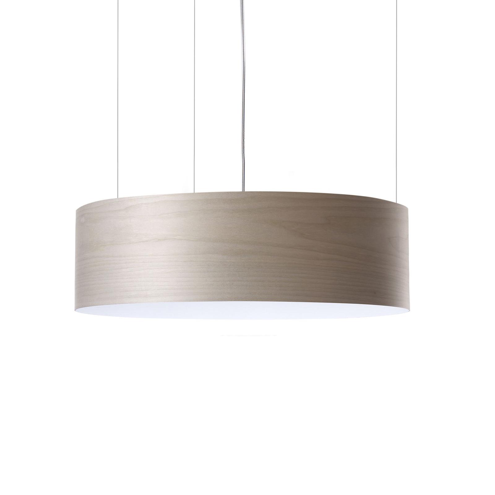 LZF Gea Slim LED-hengelampe Casambi dim grå