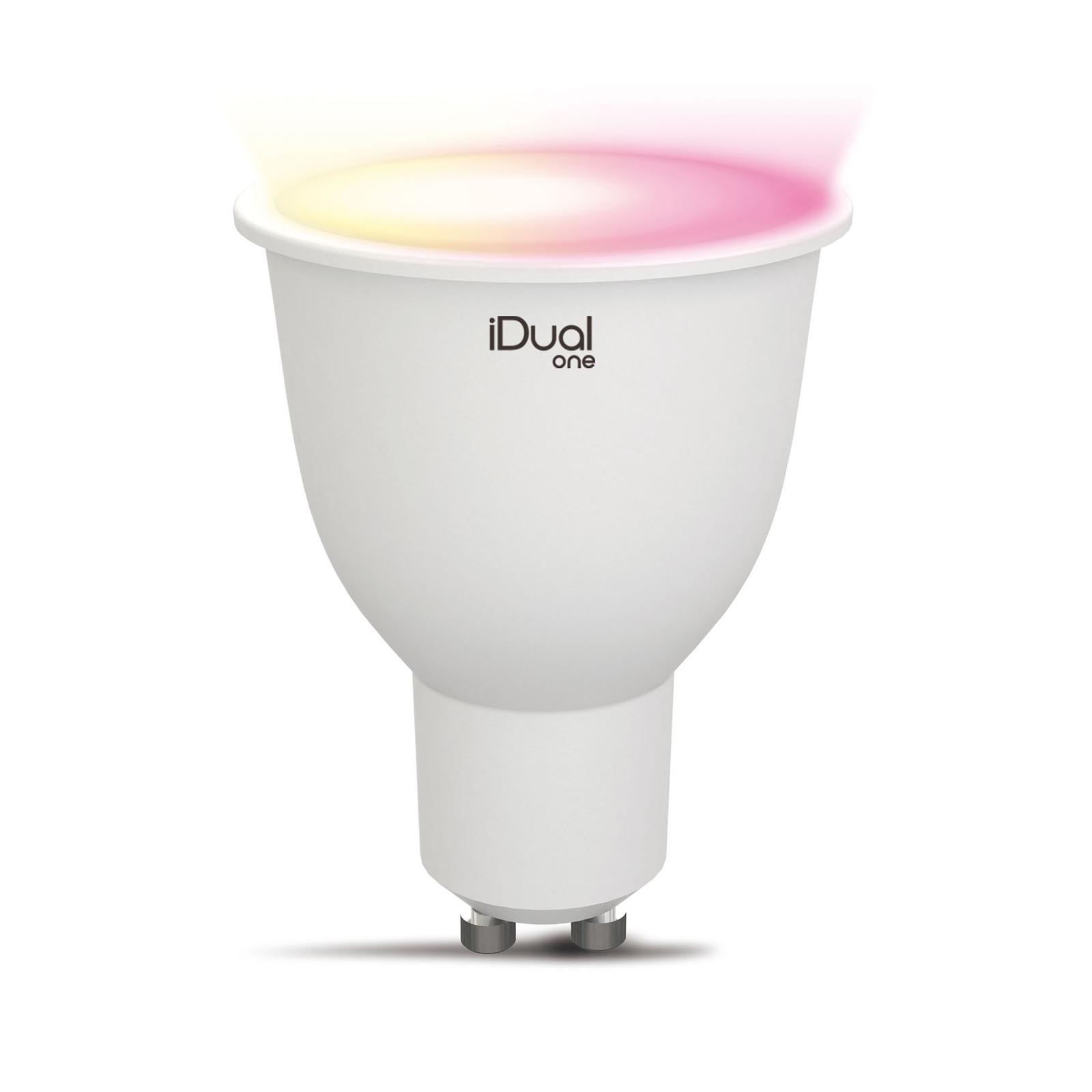 iDual One LED riflettore GU10 5W 330lm RGBW
