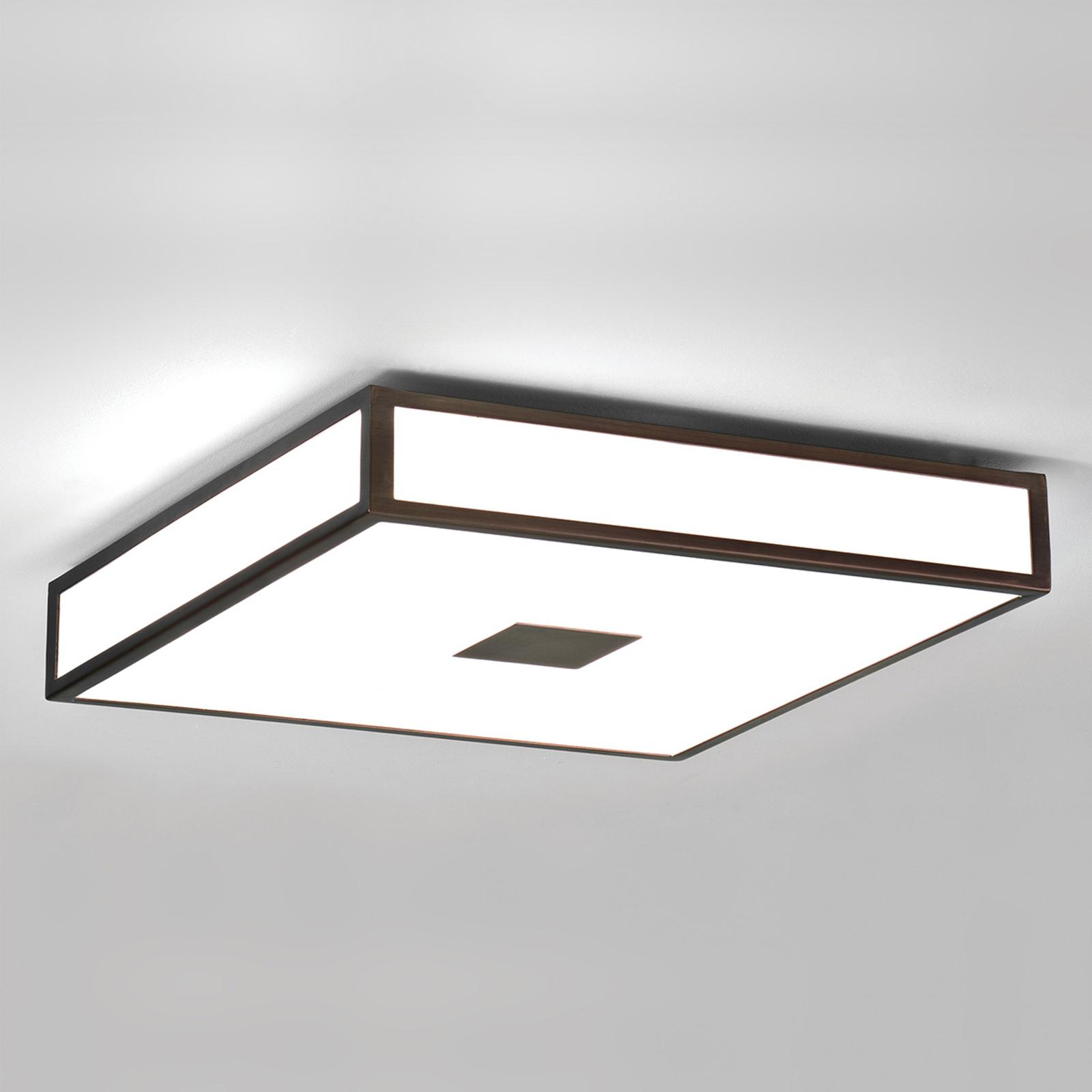 Astro Mashiko stropní světlo, 40x40, bronz