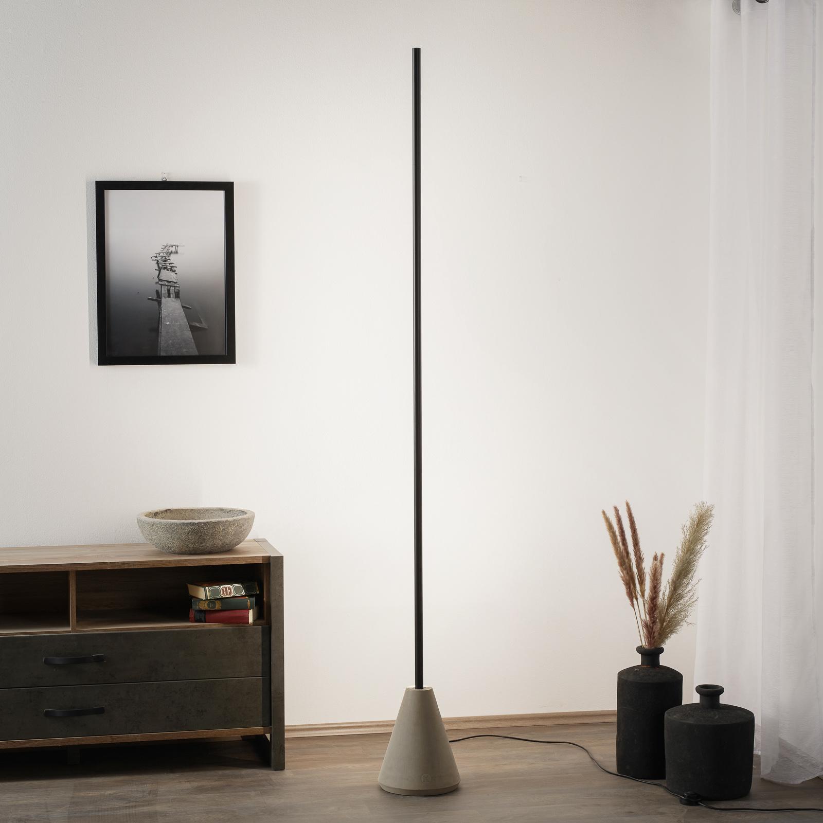 Karman Cupido LED vloerlamp, Tunable White via app