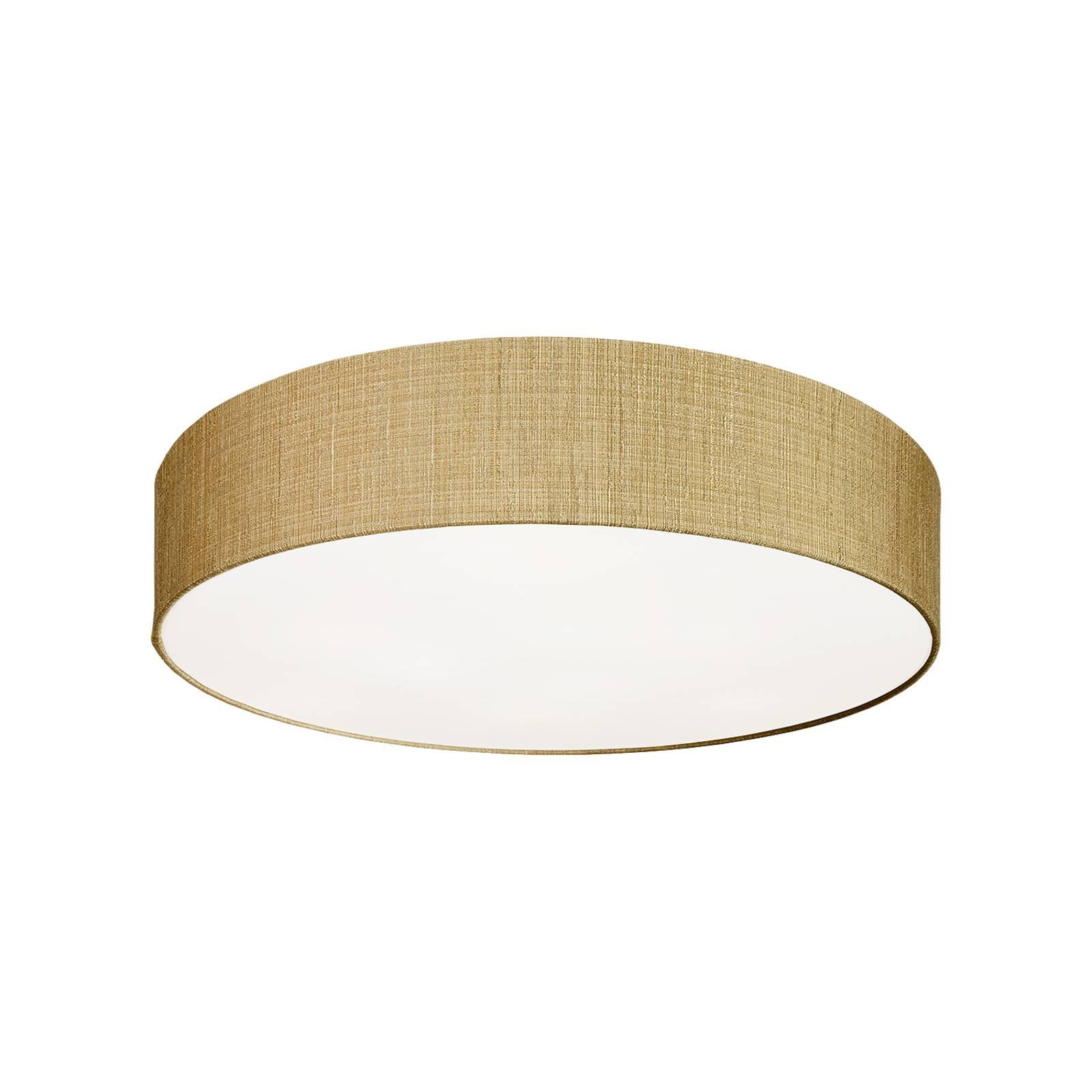 Deckenleuchte Turda, Ø 65 cm, gold