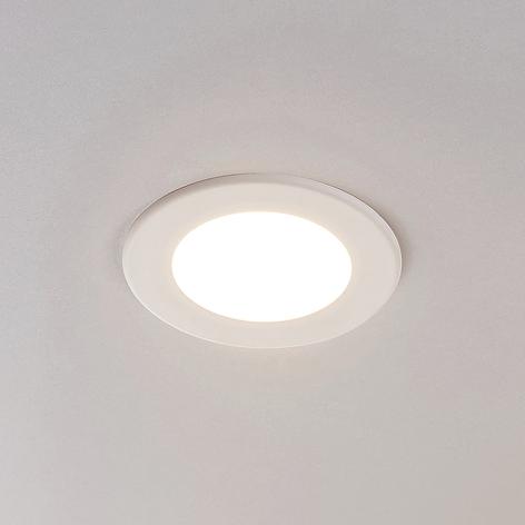 LED-Einbaustrahler Joki weiß 3000K rund 11,5cm