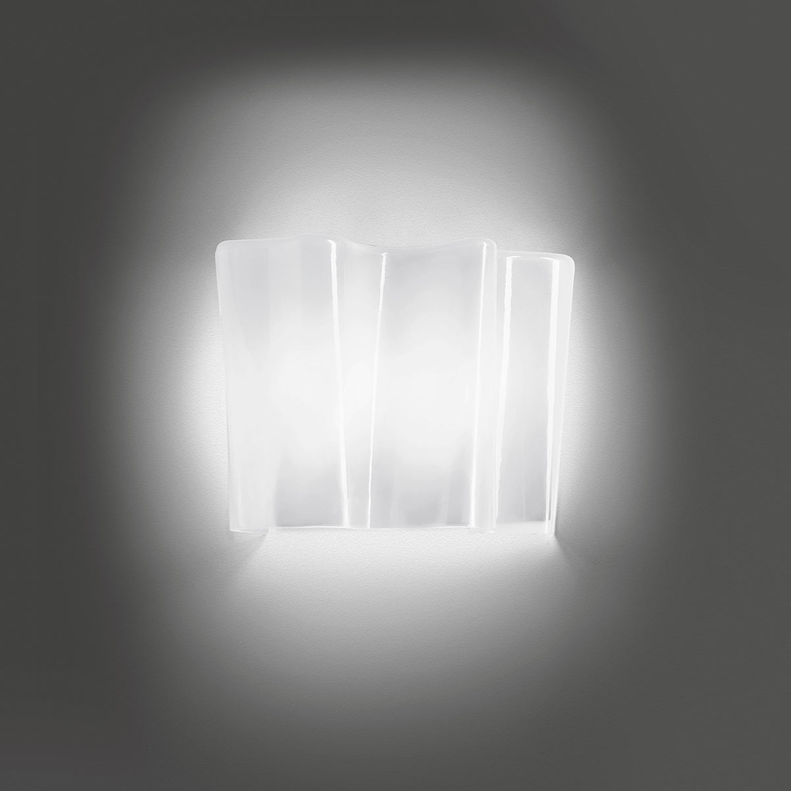 Artemide Logico Micro wandlamp 33 cm wit