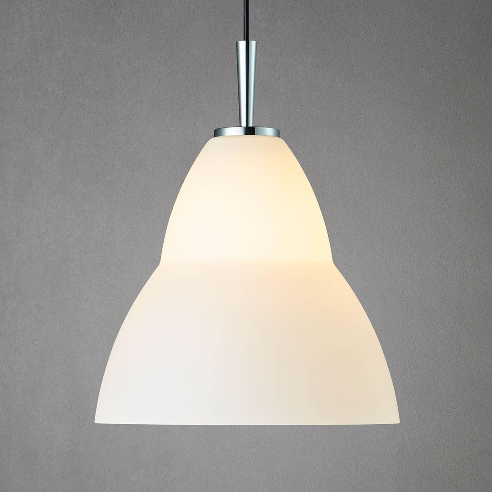 Lampada a sospensione in vetro Fico L, Ø 35 cm