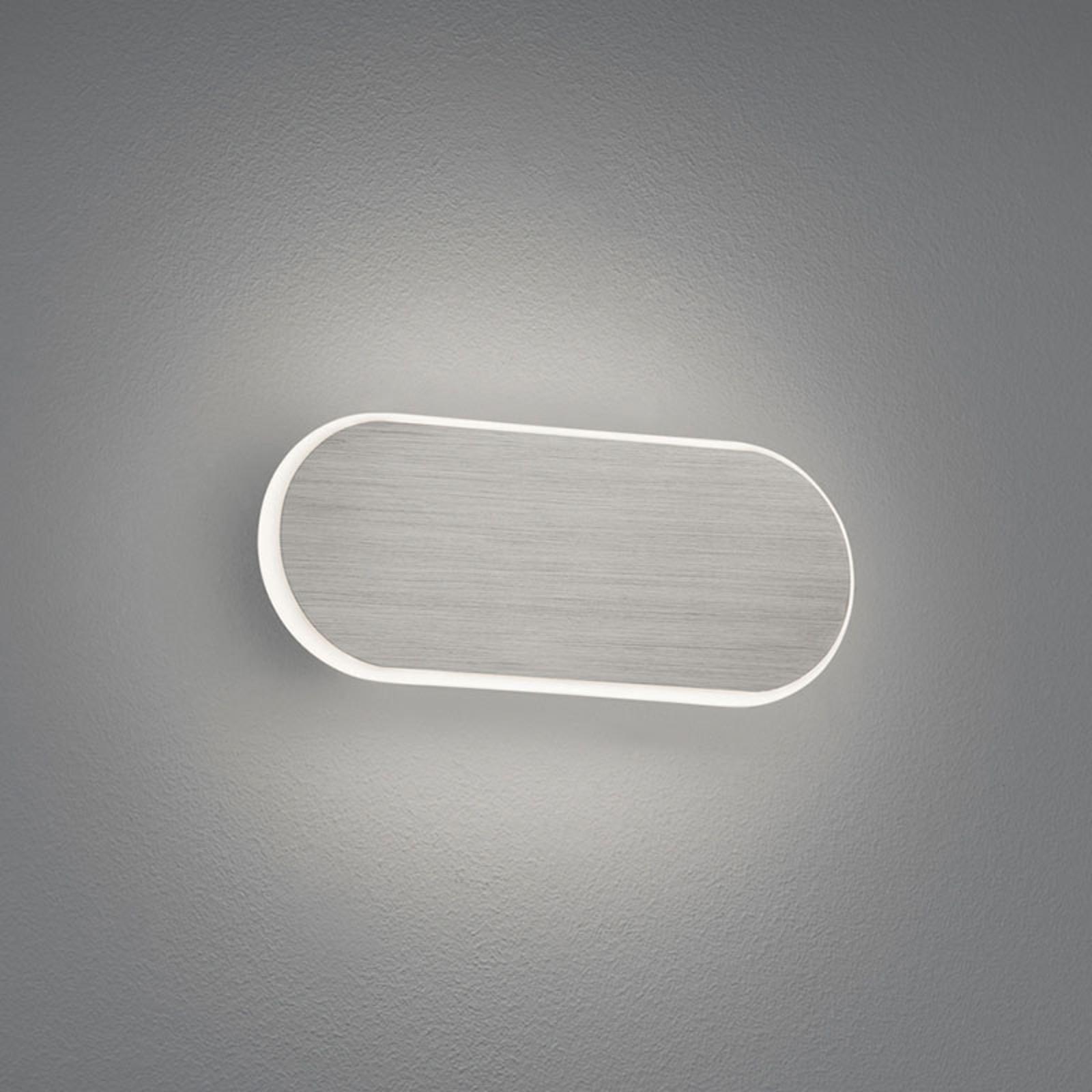 LED-Wandlampe Carlo, SwitchDim, 20 cm, nickel matt