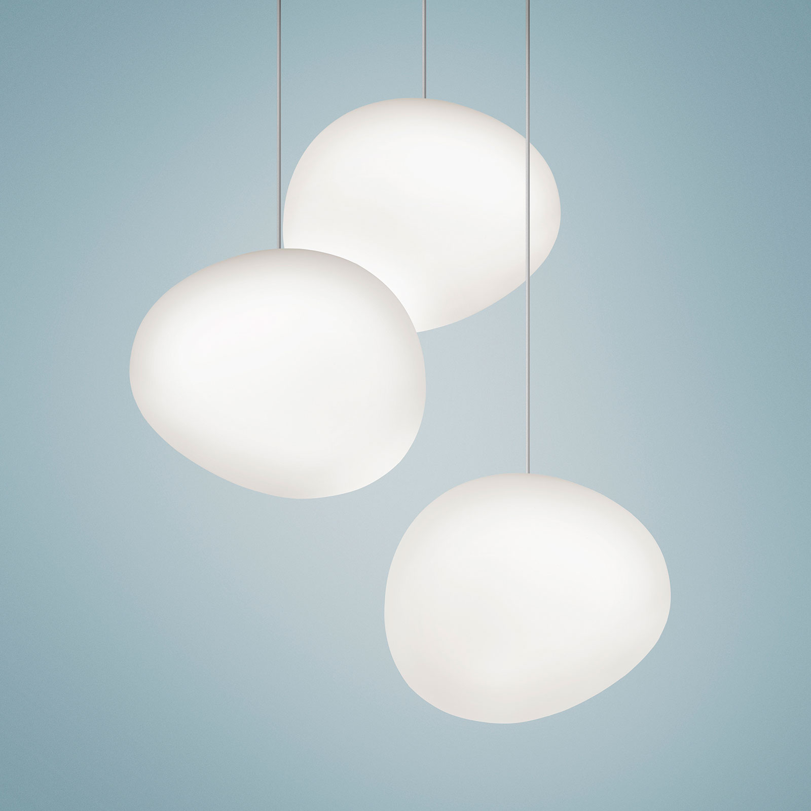Foscarini Gregg LED glass hengelampe, dimbar   Lampegiganten.no