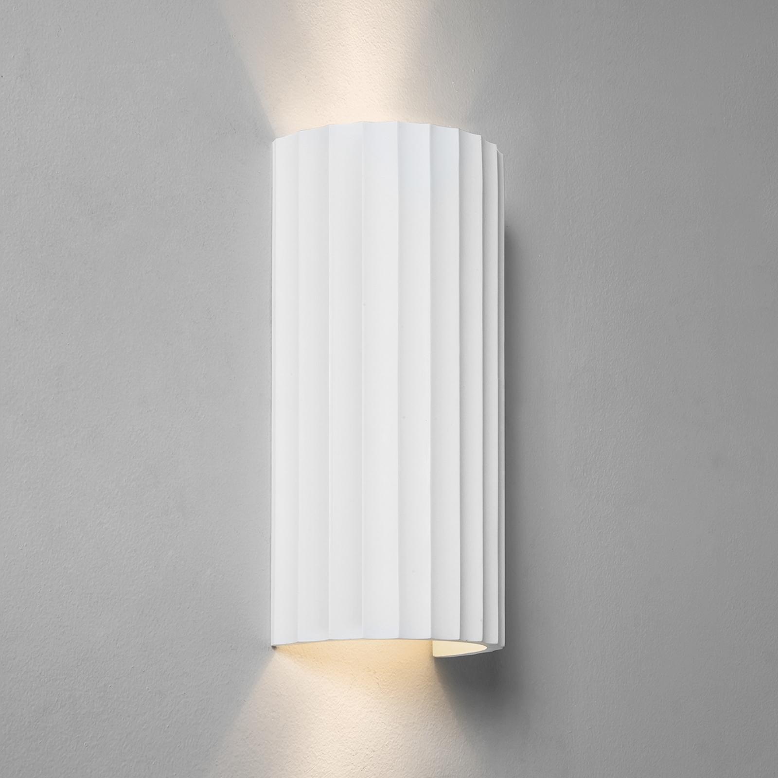 Gips-wandlamp Kymi 300