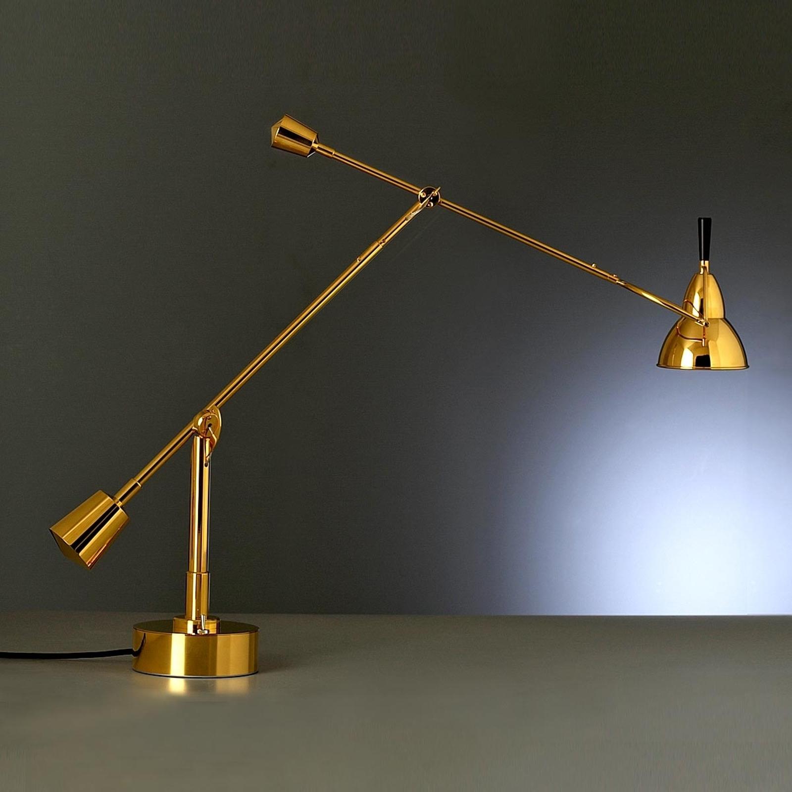 TECNOLUMEN Buquet tafellamp 24 karaats verguld