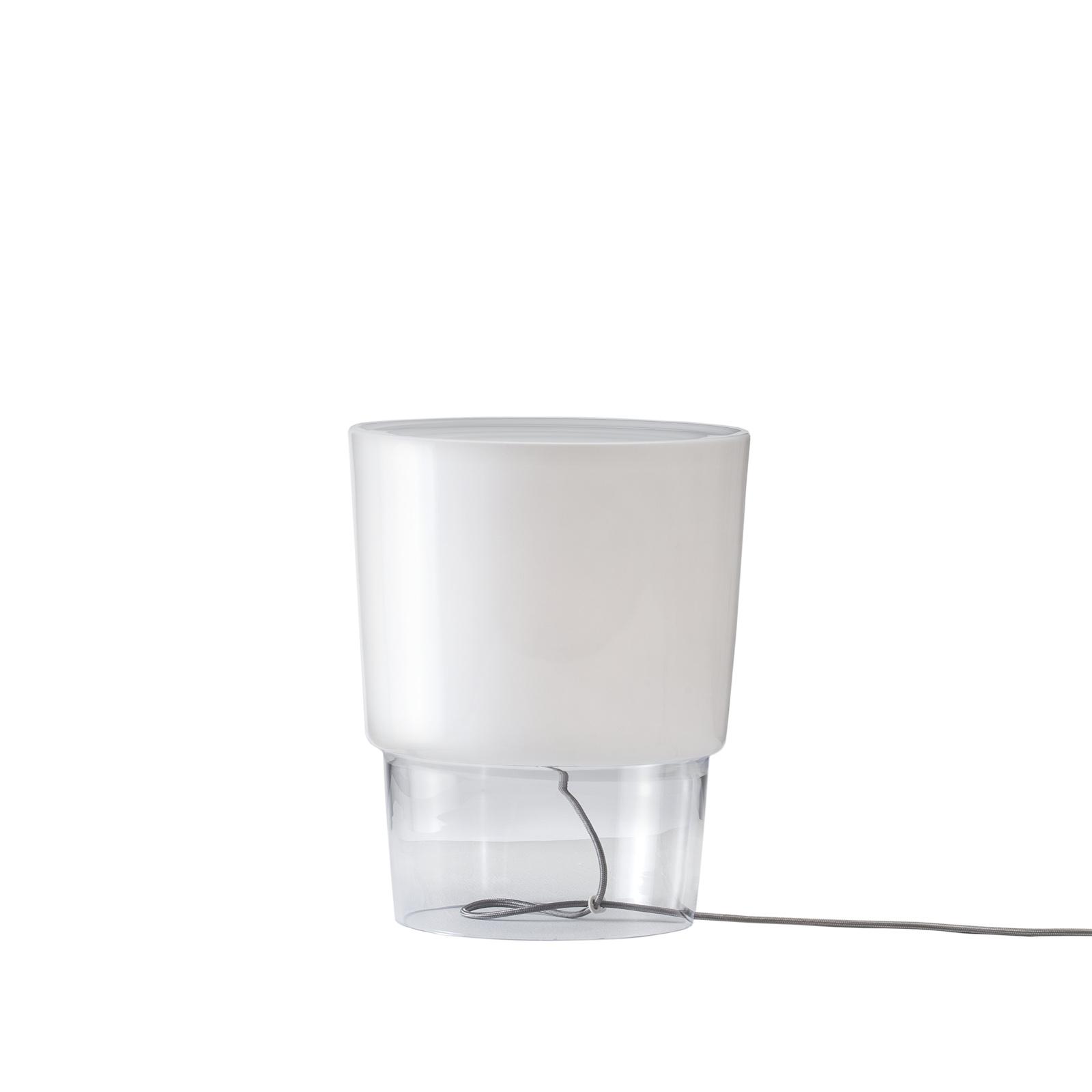 Prandina Vestale T3 bordslampa vit/klar