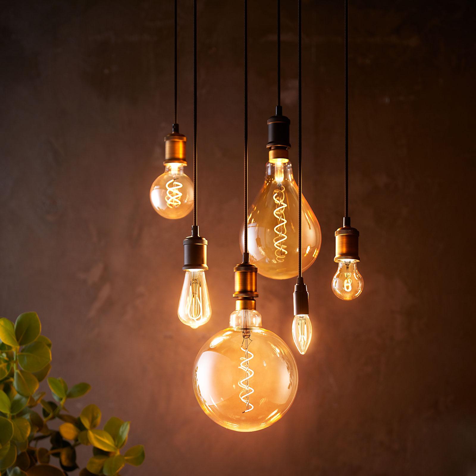 E27 5,5W A60 lampadina LED Philips 2.000K oro