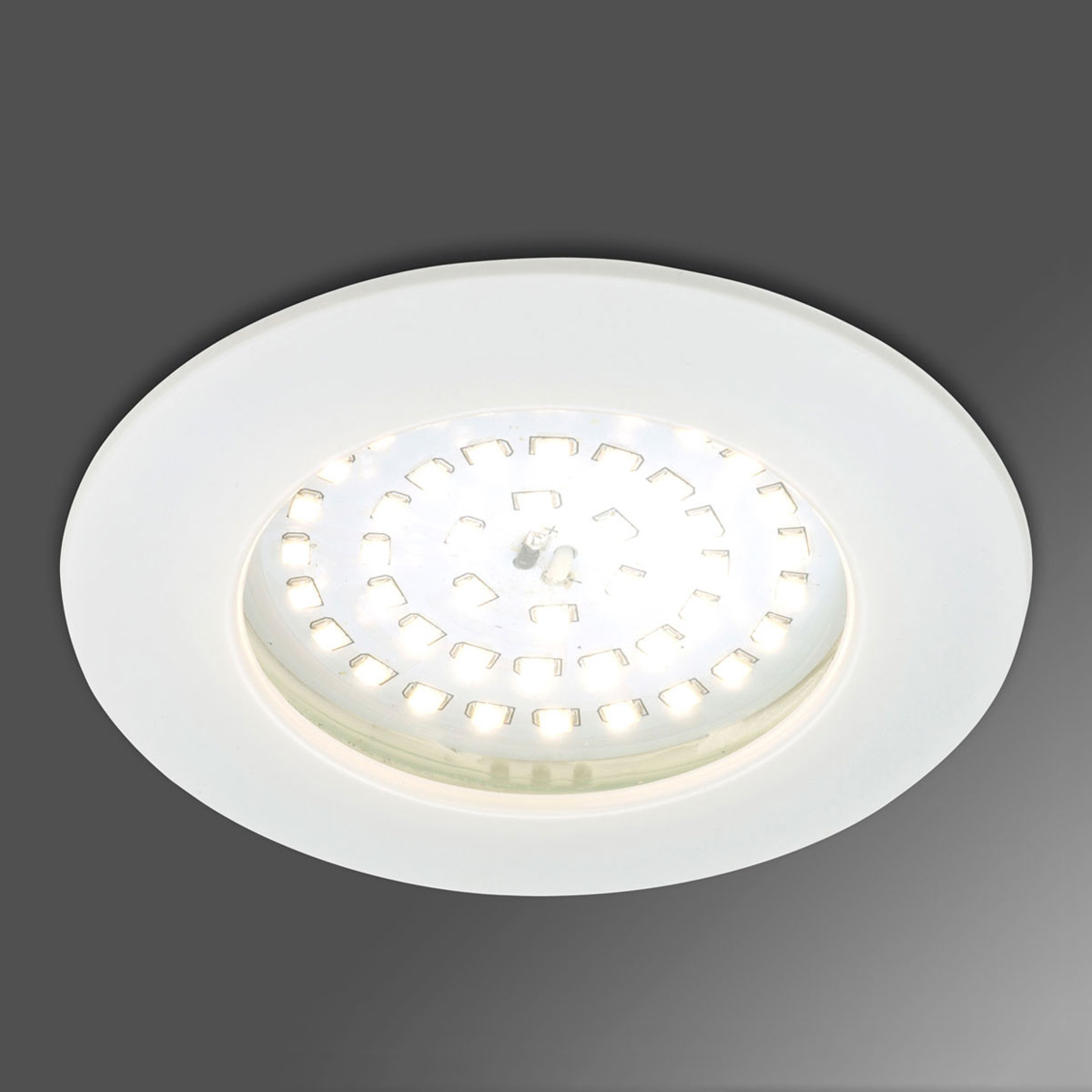 Akcentujący reflektor wpuszczany LED Paul biały