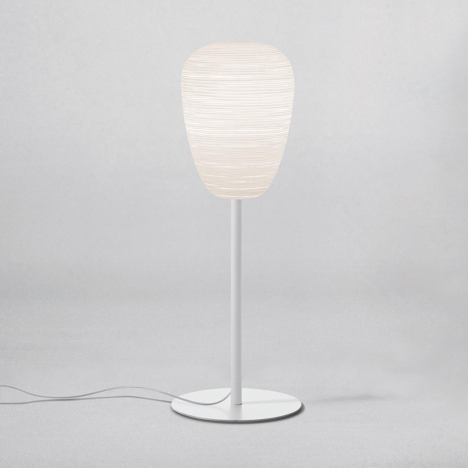 Foscarini Rituals 1 alta bordlampe, hvid