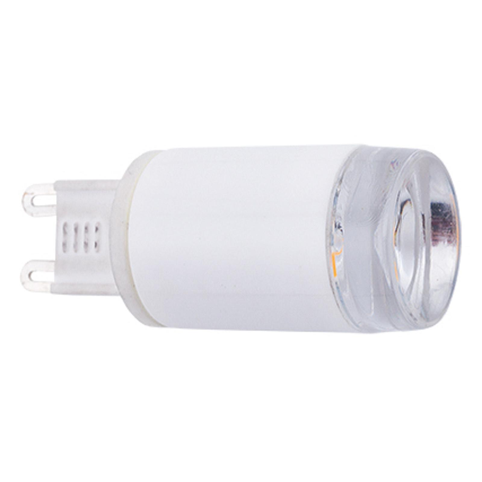 Ampoule LED G9 3W, 280lm, 3000K, 120°