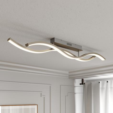 Lucande Mairia -LED-kattovalaisin, aaltomainen