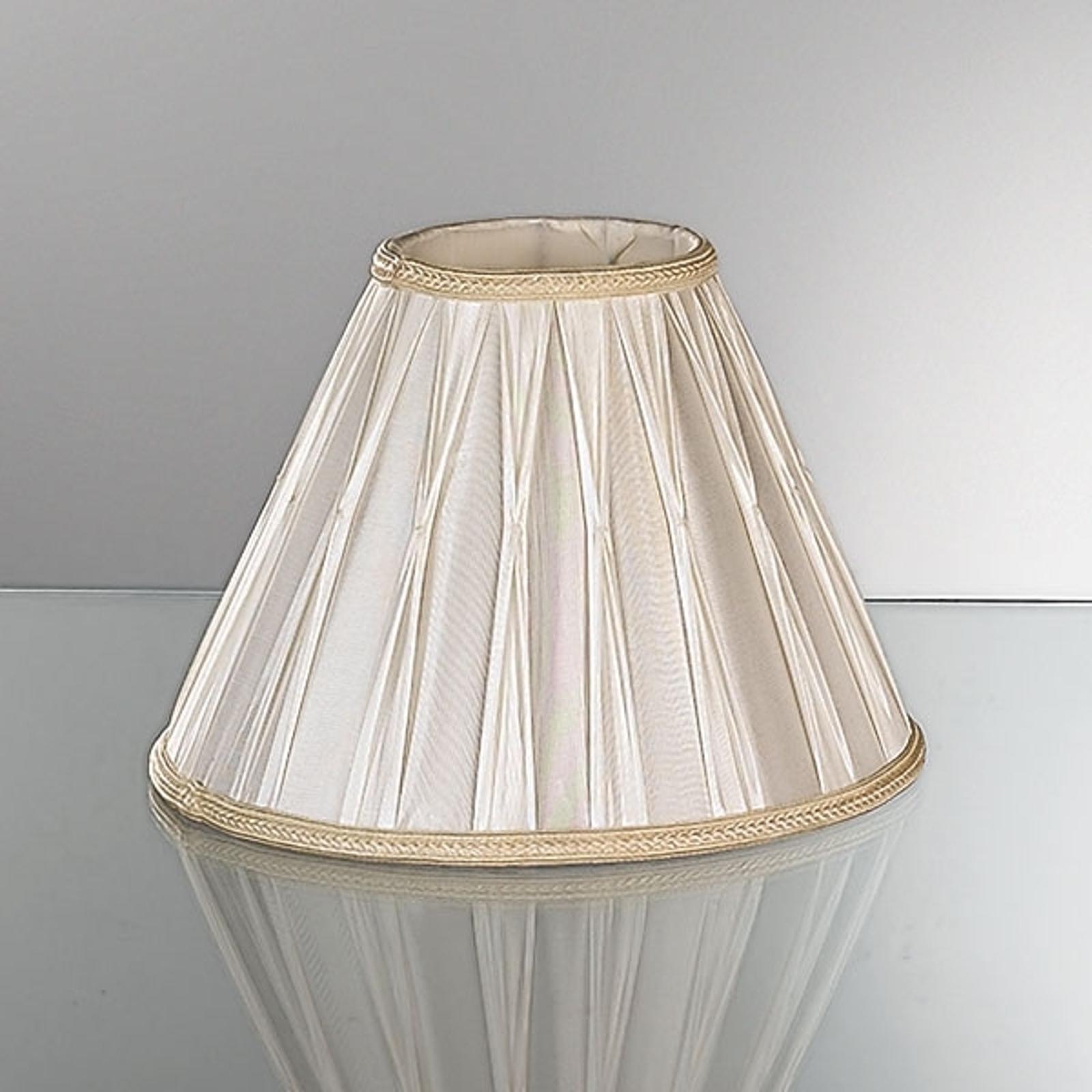 Reserveskjerm for bordlamper i plissé 30,5 cm