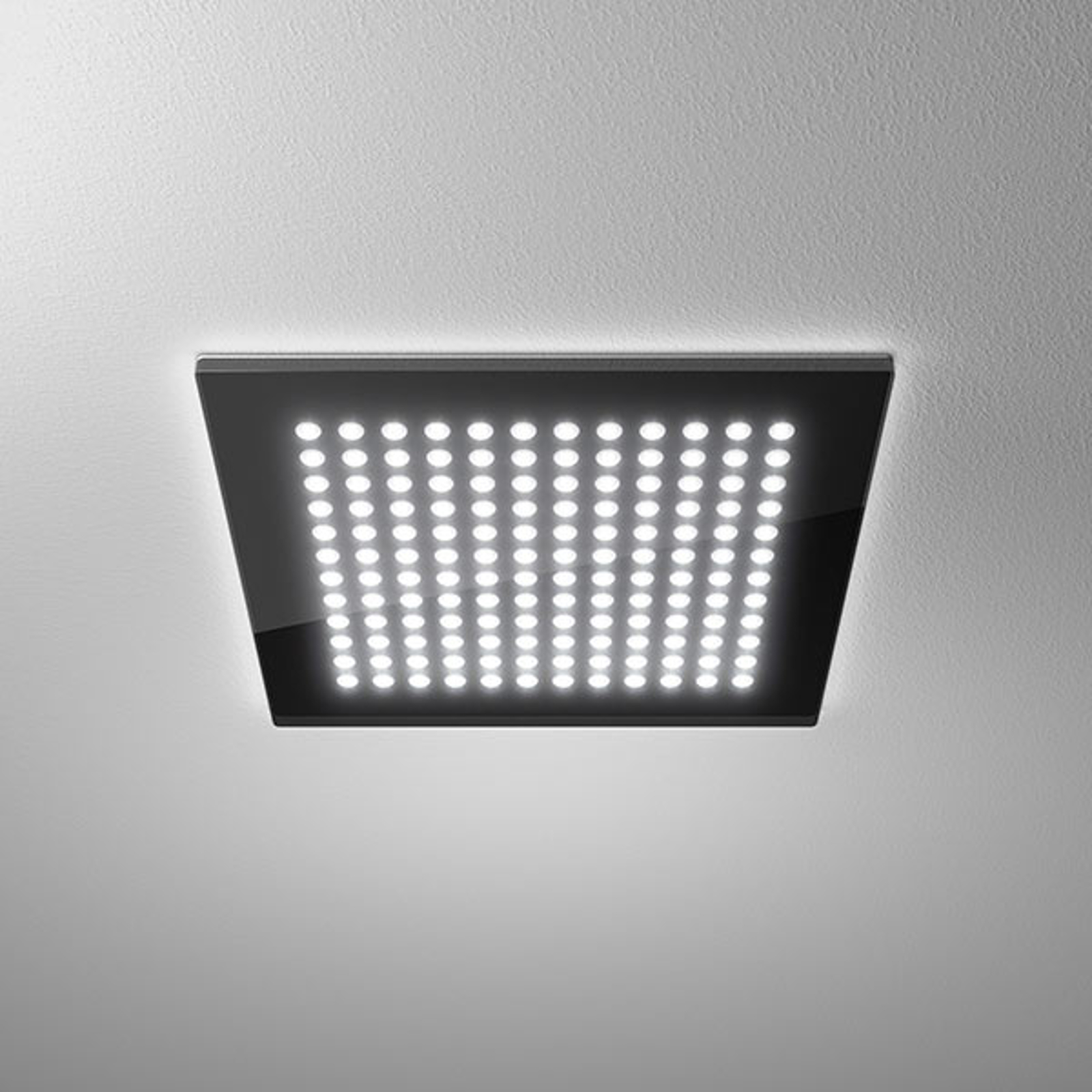 LED downlight Domino Flat Square, 26 x 26 cm, 22 W