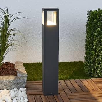 Firkantet LED gadelampe Nicola, IP54