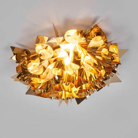 Slamp Veli Medium Design-Deckenlampe Ø 53cm gold
