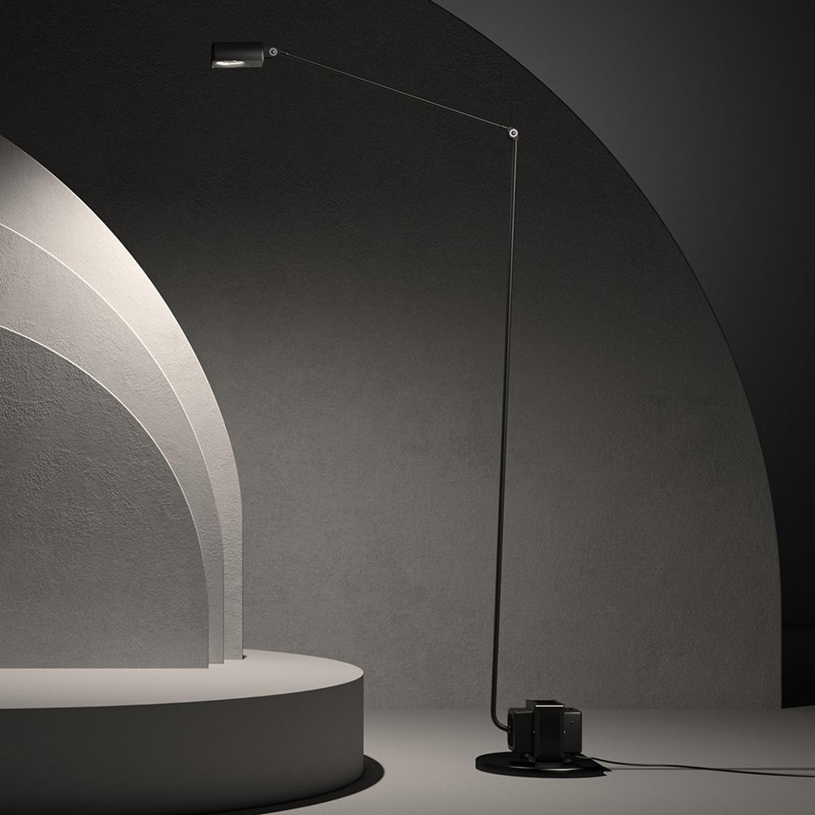 Lumina Daphine lampa stojąca LED 3000K, czarna