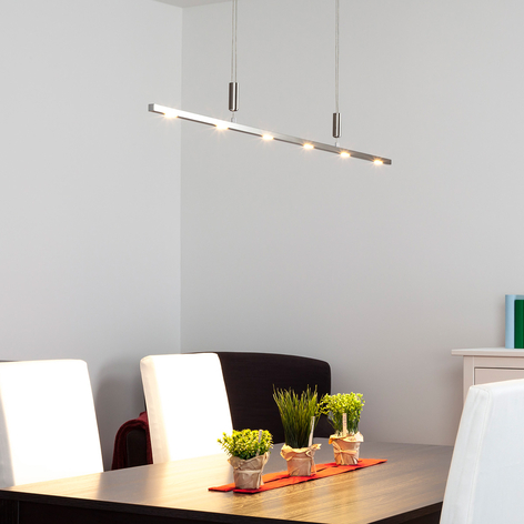 Pregevole lampada sospesa LED Tolu, regol. altezza